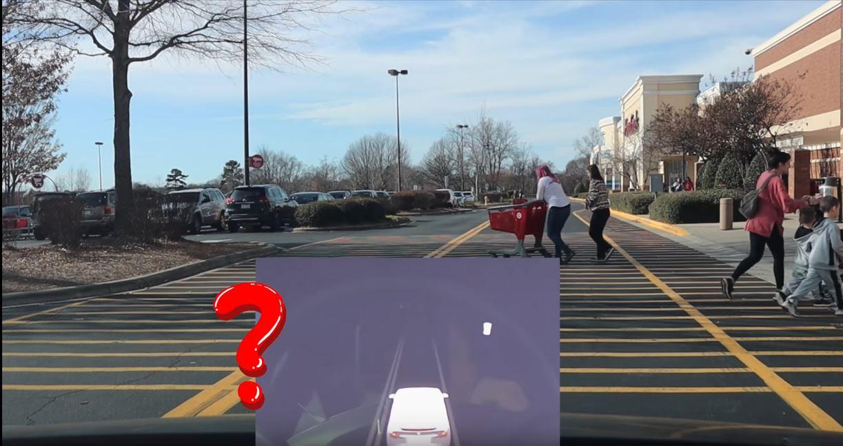 Tesla Model X Not Seeing Pedestrians