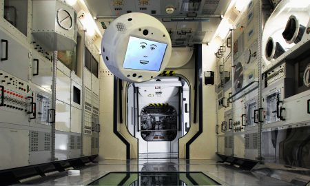 CIMON is designed to help astronauts on the space station. Credit: Airbus