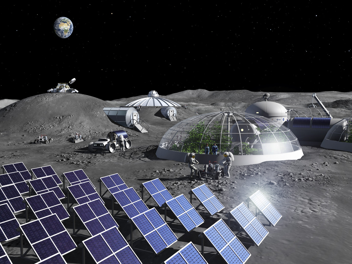 Scientists have found a way to make oxygen out of Moon Dust - Teslarati