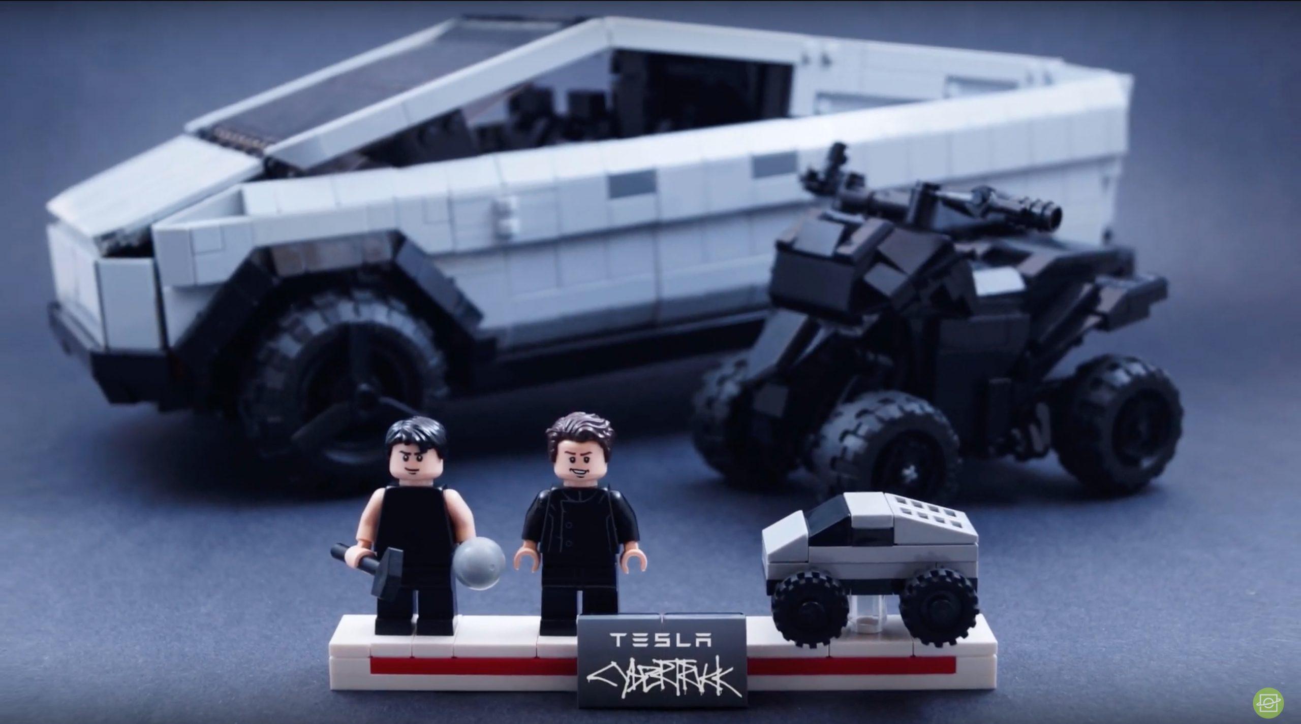 Tesla Cybertruck Lego Kit