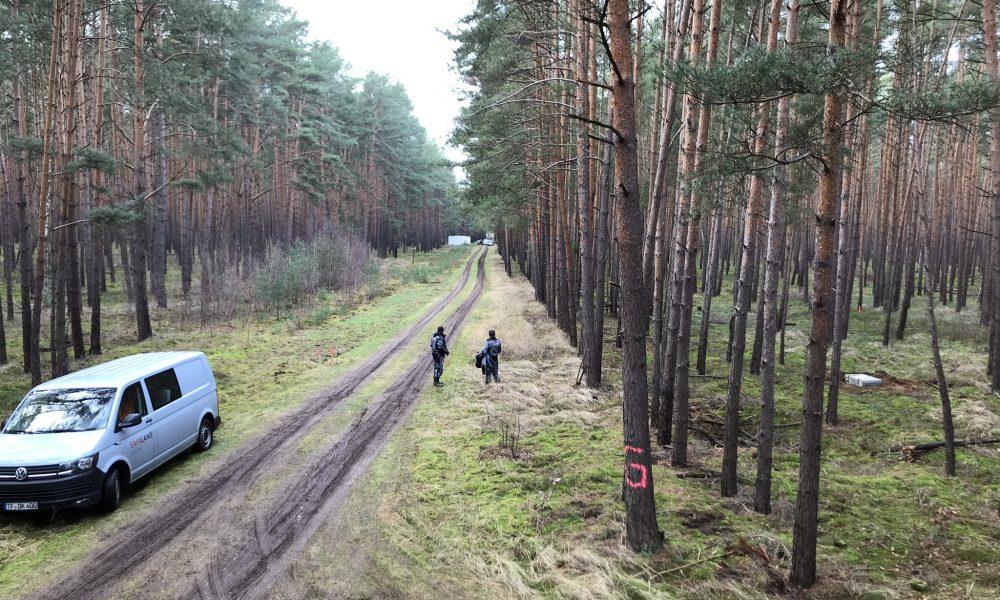 Tesla forest site of Gigafactory 4 in Berlin