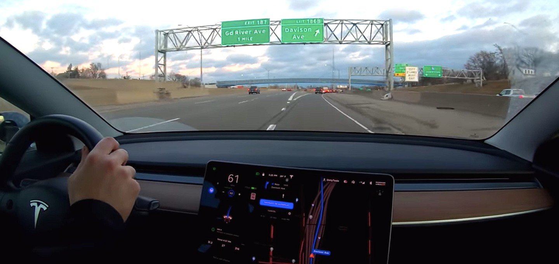 tesla-model-3-45-mile-drive-autopilot