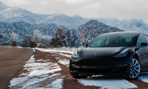 Tesla Model 3 - Maiden Voyage 3(Source: @MCarbon via Twitter)