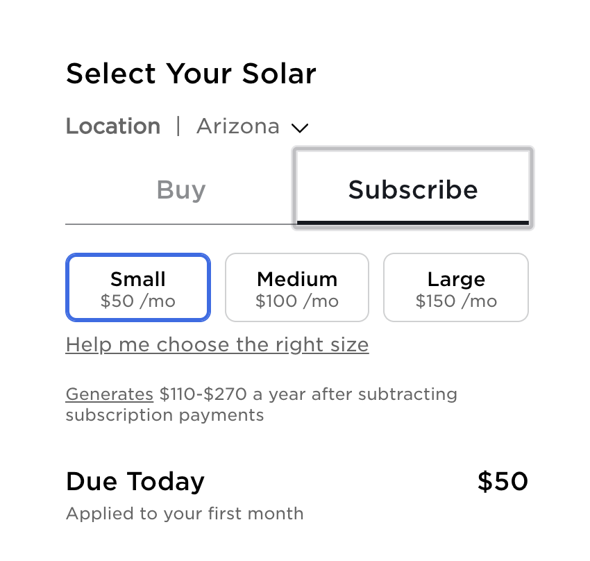 tesla solar subscription pricing guide