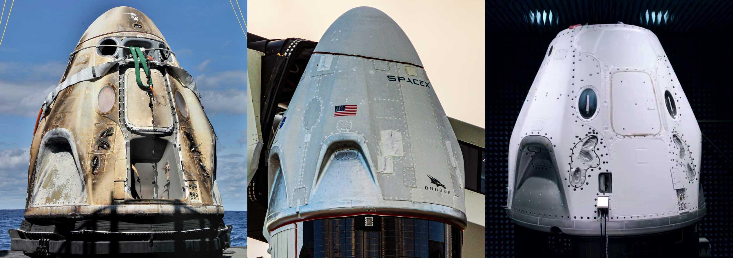 Crew Dragon C201 C205 C206 (NASA – SpaceX) 1 (c)