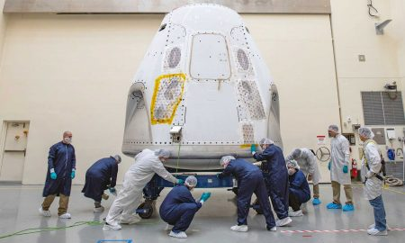 In a major twist, NASA has effectively confirmed that SpaceX will become the first private company in history to launch astronauts into orbit. (SpaceX)