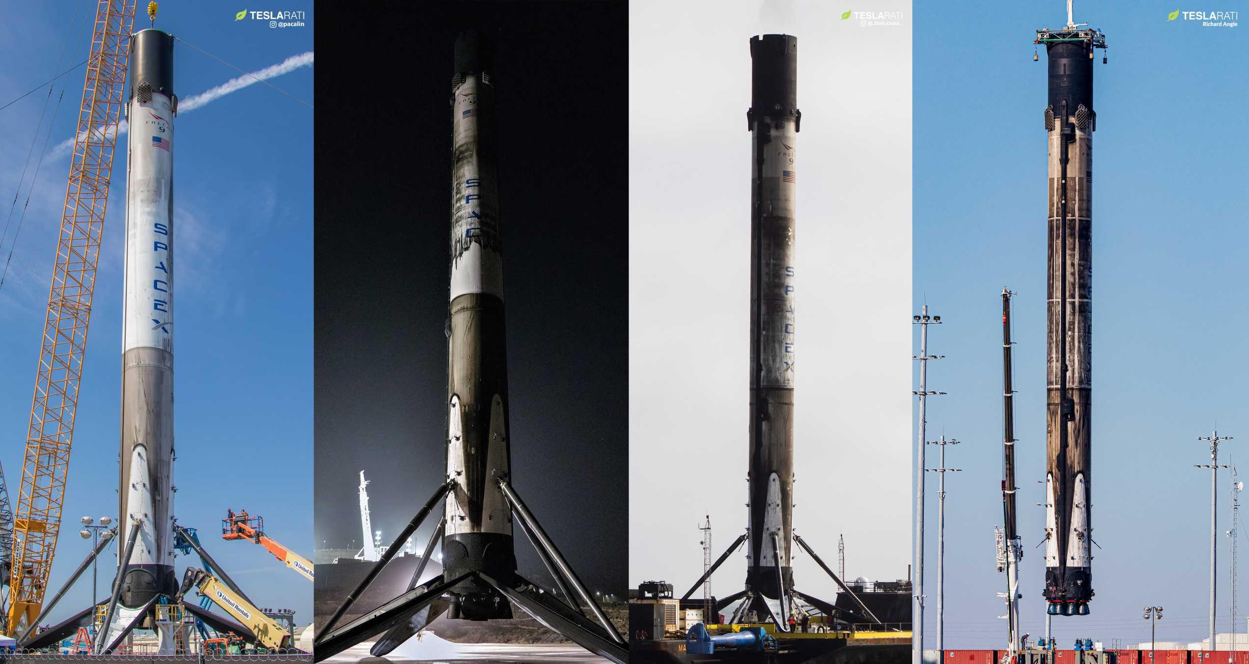 Falcon 9 B1048 career (Teslarati) Feb 2020 1 (c)