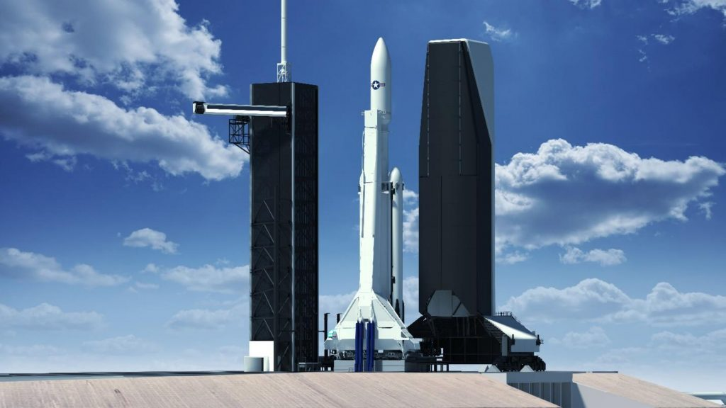 SpaceX envisions massive rocket enclosure for military applications