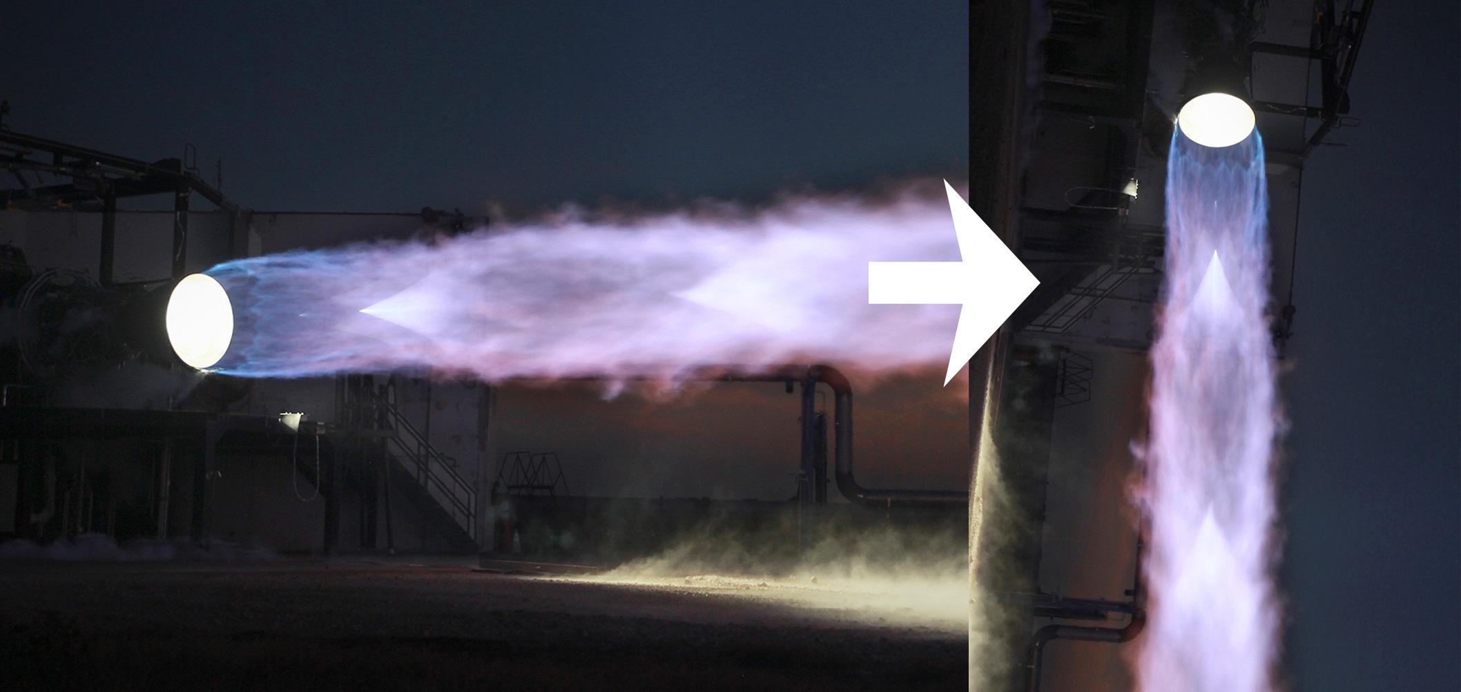 Raptor but vertical (SpaceX) 1