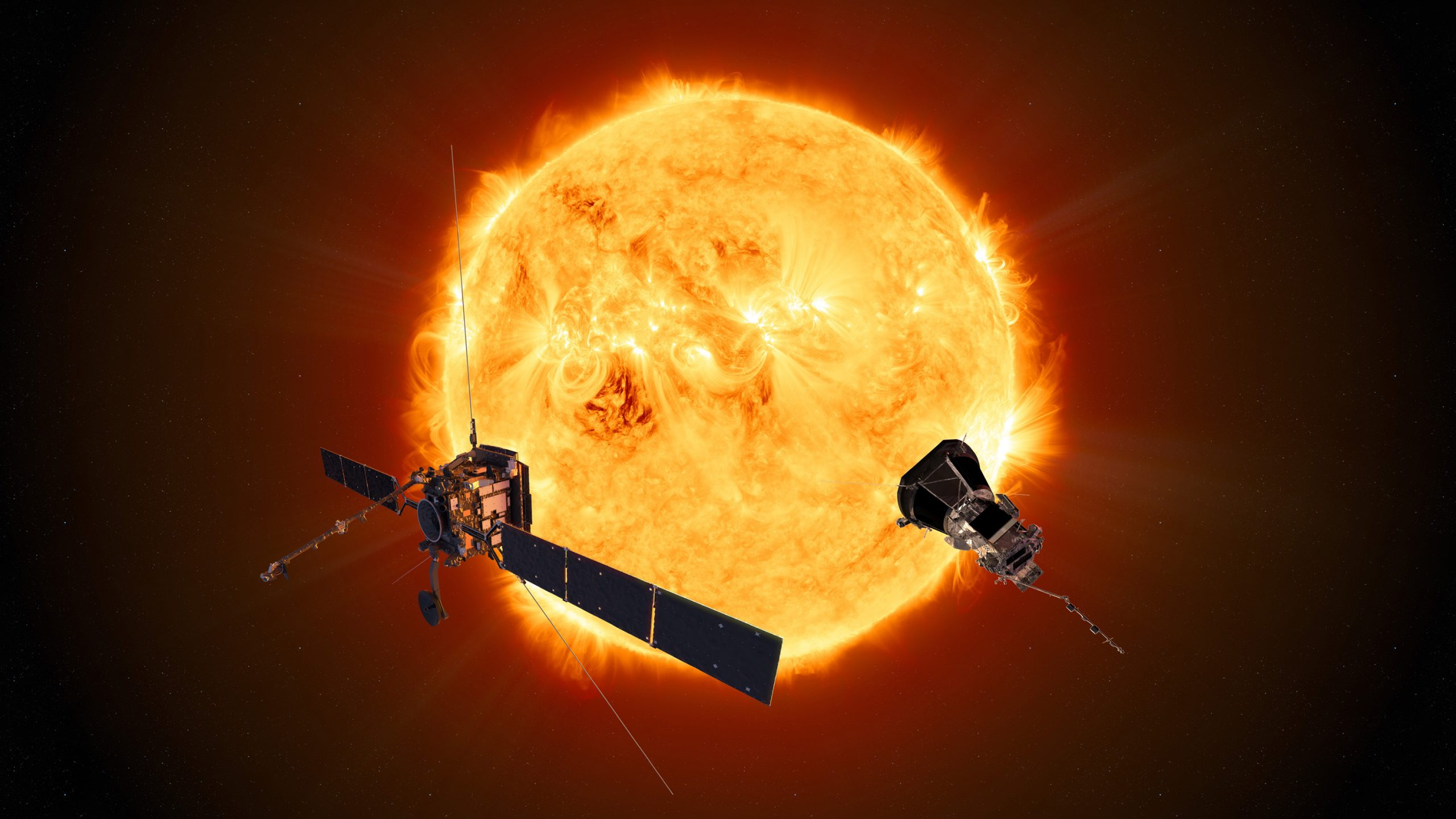 Solar Orbiter and Parker Solar Probe