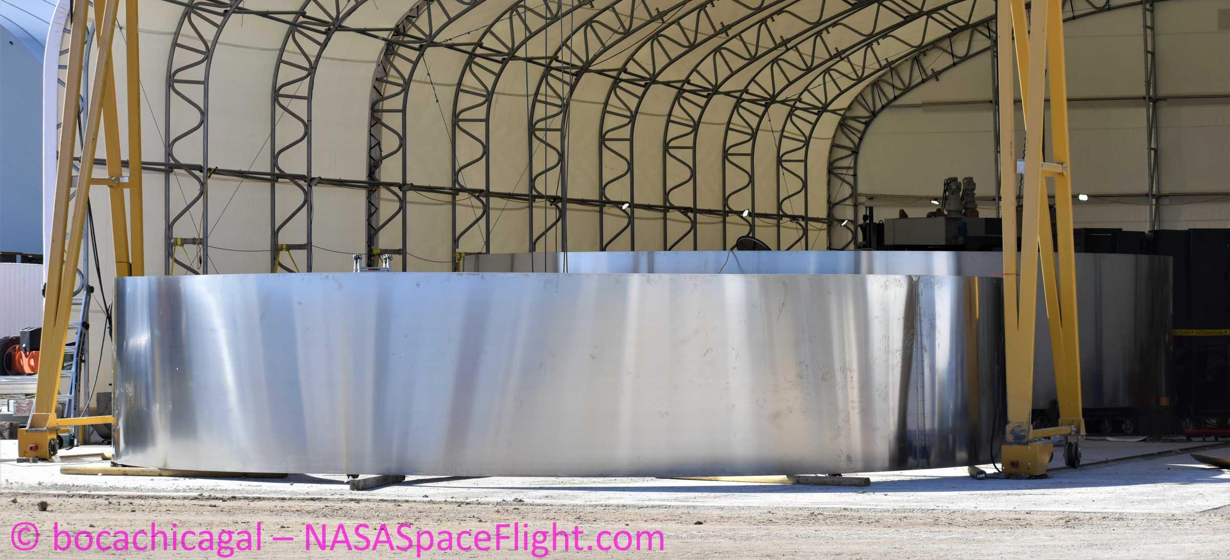 Starship Boca Chica 020220 (NASASpaceflight – bocachicagal) SN01 rings 1 crop (c)