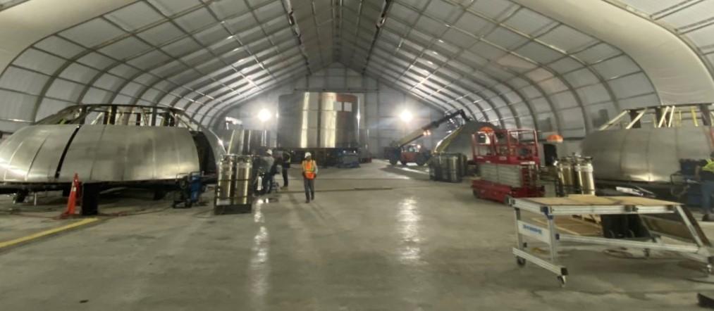 Elon Musk reveals SpaceX Starship production well underway inside new Texas factory - Teslarati