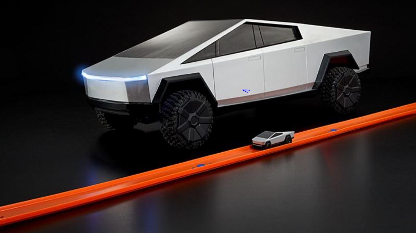 Tesla Cybertruck Hot Wheels RC