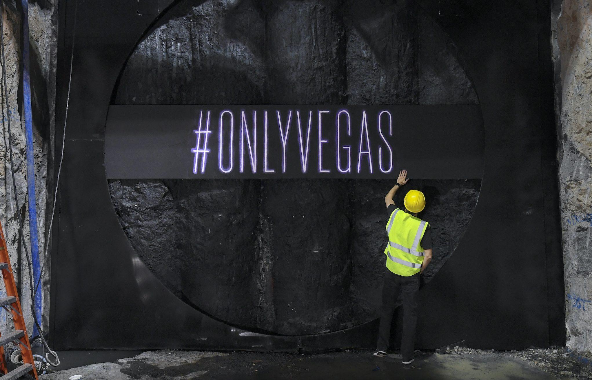 TBC #OnlyVegas Logo