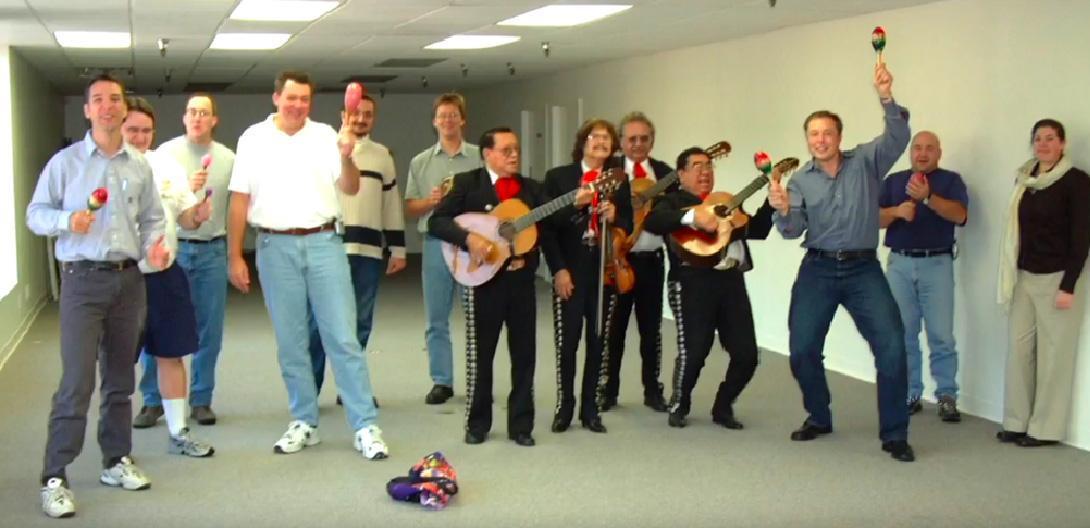 elon musk mariachi band