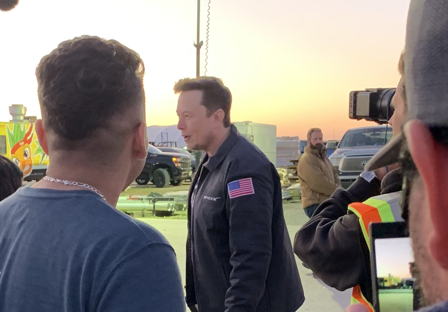 elon musk spacex career day texas
