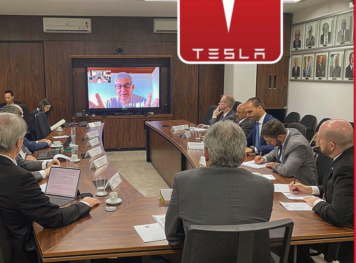 Brazilian authorities meet to discuss Tesla factory