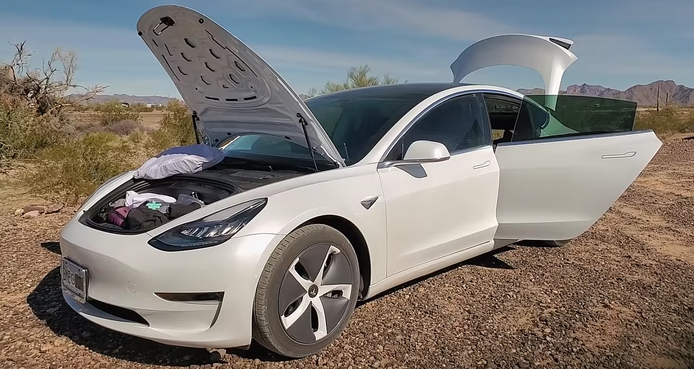 Tesla owner lives in a Model 3 instead of her house: 'I believe this is the future'