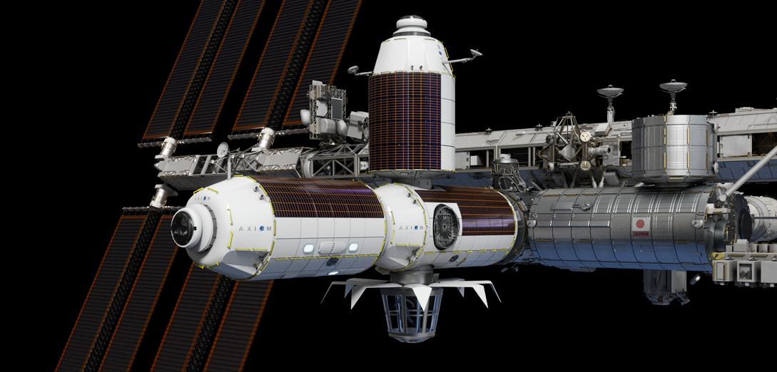 Axiom Station render (Axiom) ISS phase 1 crop