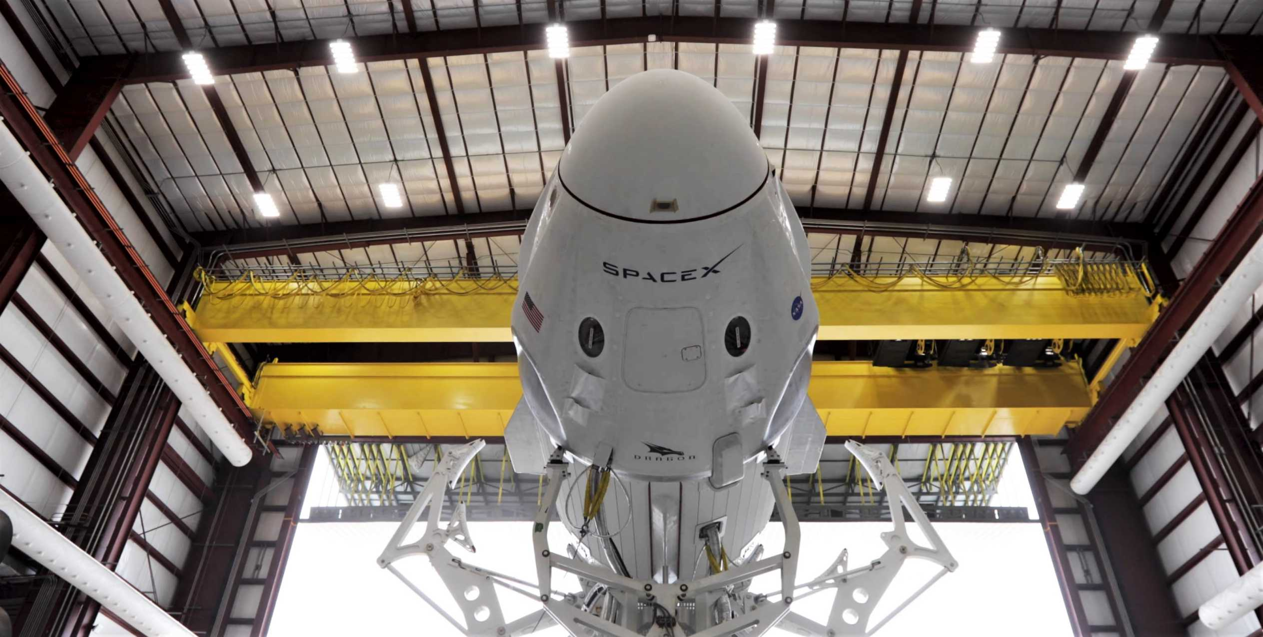 Crew Dragon C201 Demo-1 anniversary (SpaceX) video 1 (c)
