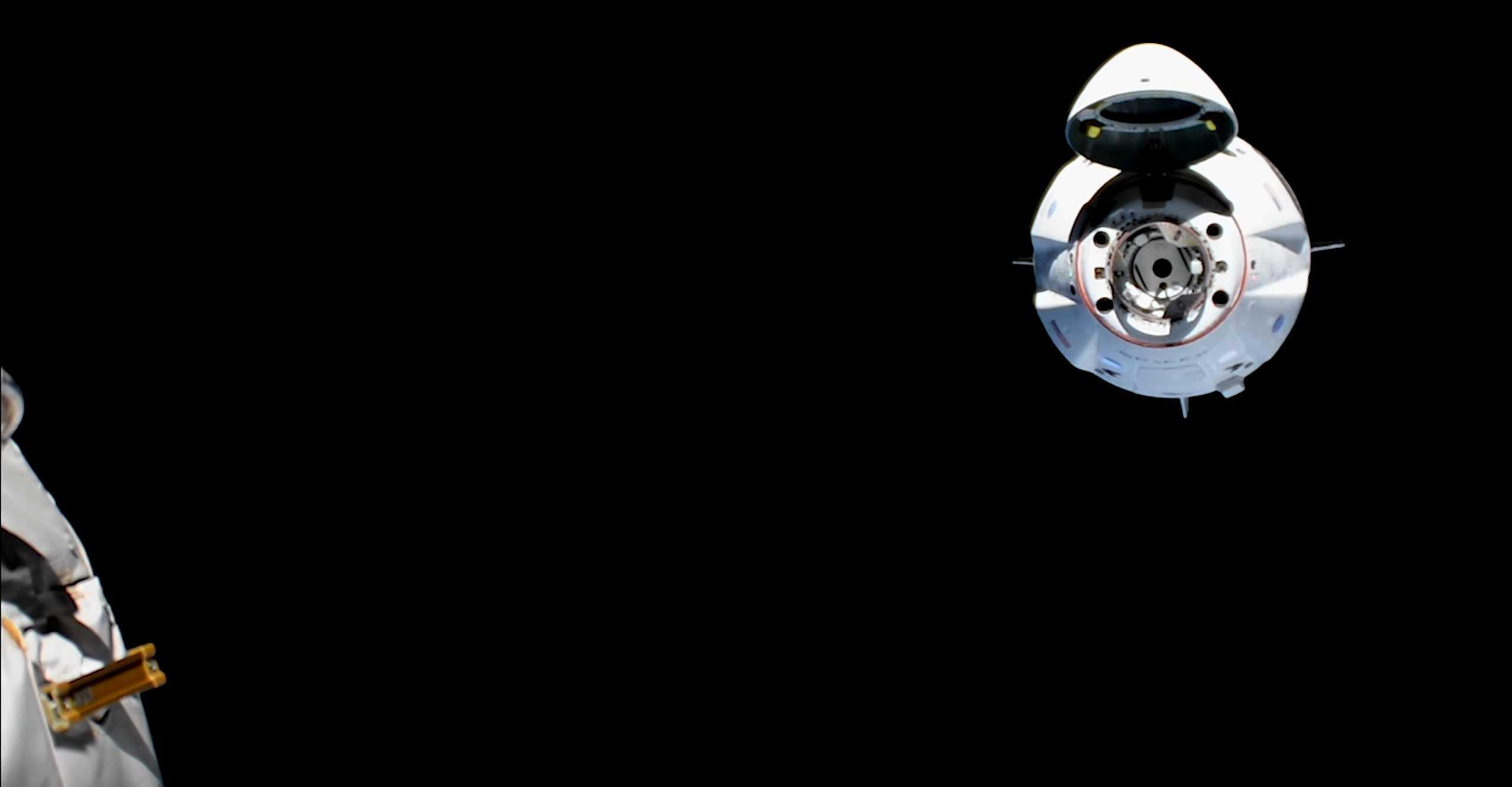 Crew Dragon C201 Demo-1 anniversary (SpaceX) video 5 (c)