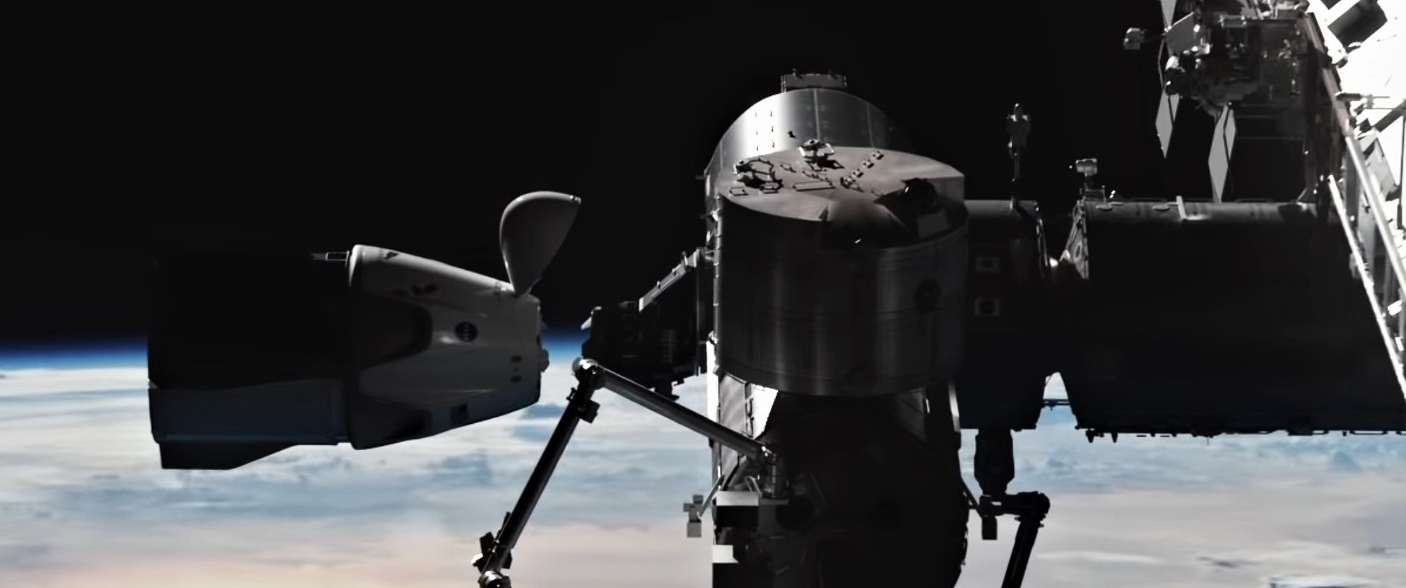 Crew Dragon Demo-2 animation Dec 2019 (SpaceX) ISS 4 crop