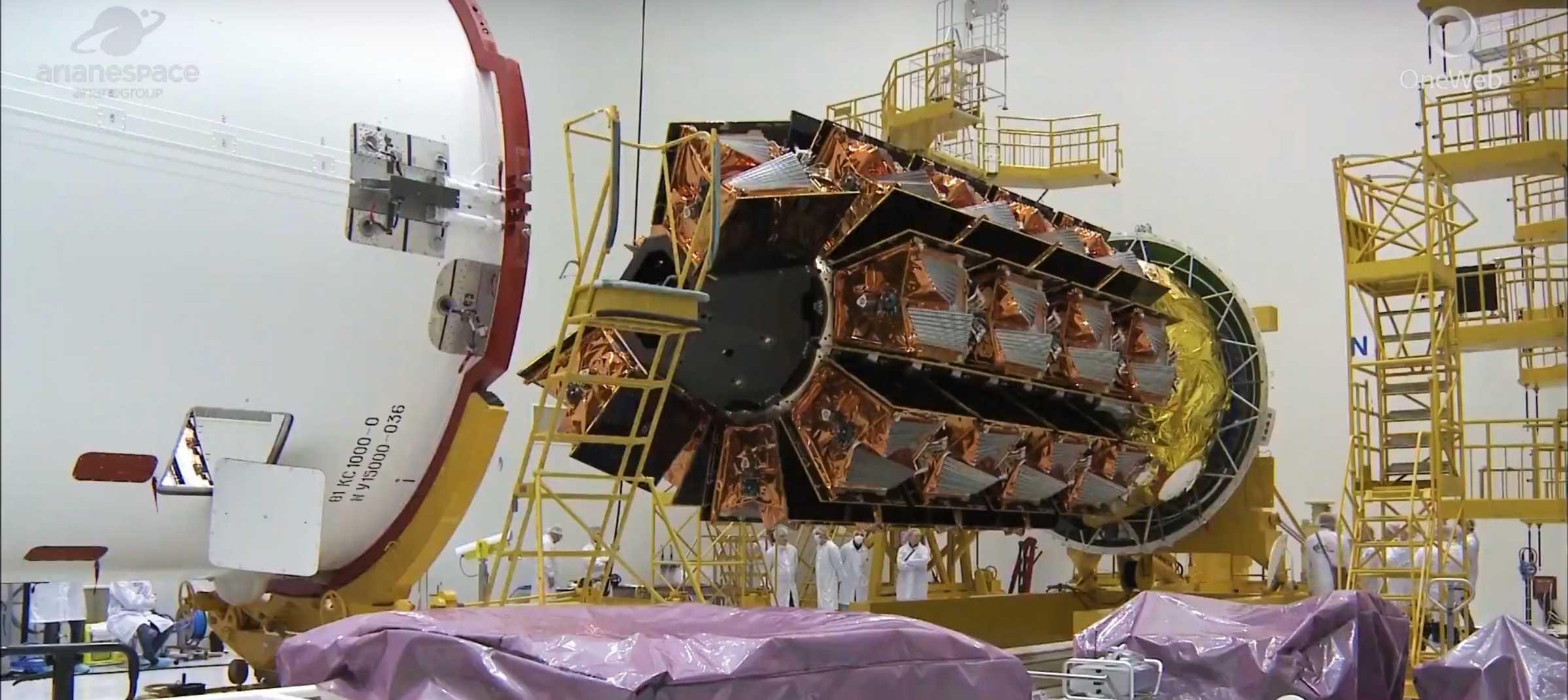 OneWeb Flight 1 satellite stack (OneWeb) 4 crop (c)