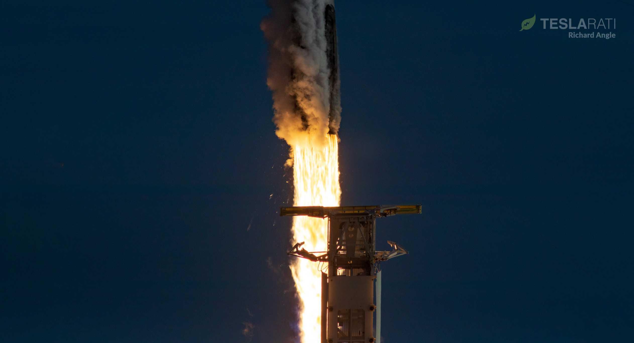 Starlink V1 L5 F9 B1048 39A 031820 (Richard Angle) launch 7 (c)