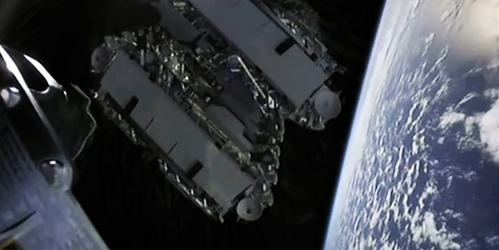 SpaceX tested its 'DarkSat' coating to reduce brightness of Starlink satellites in latest launch