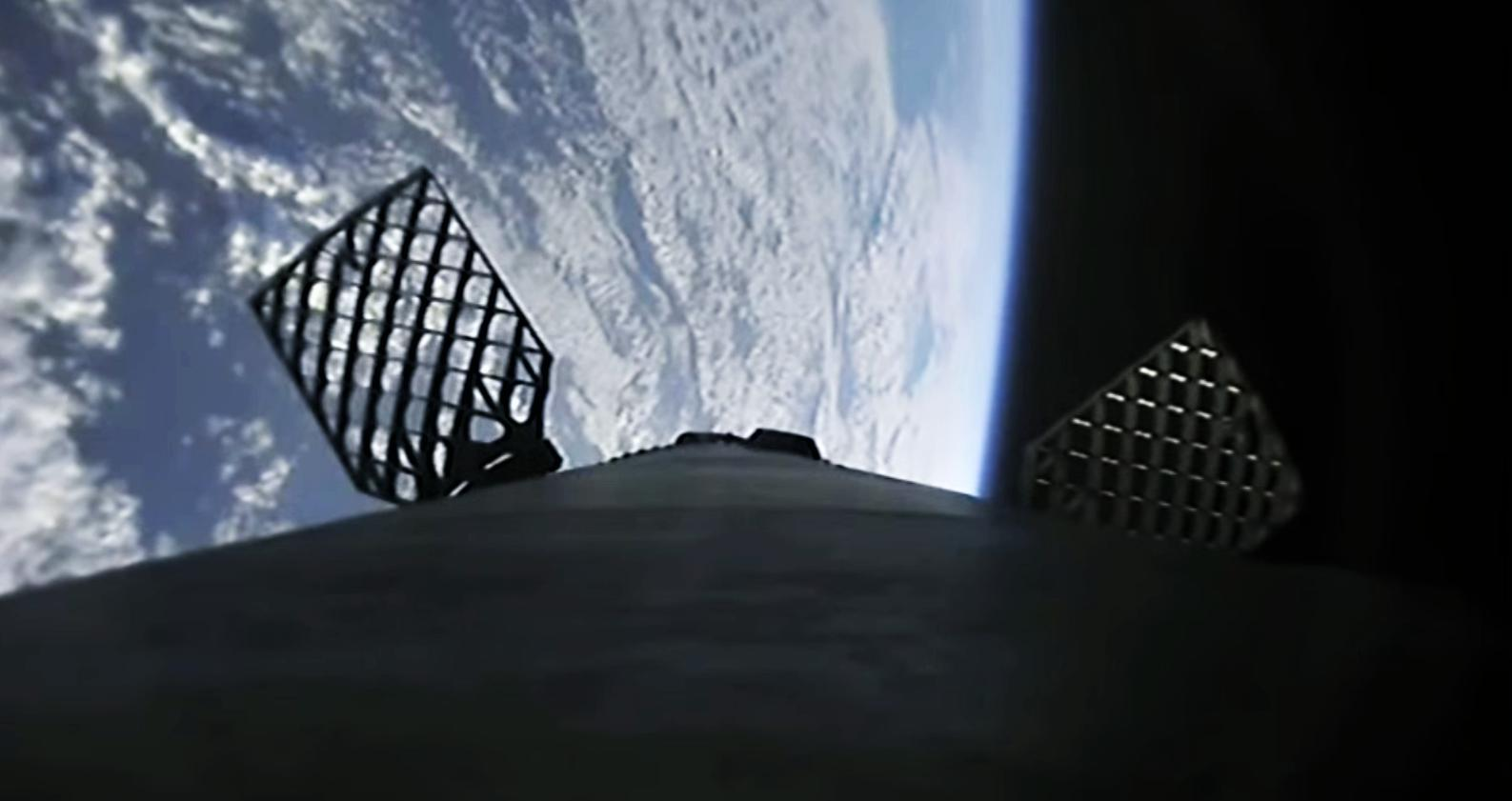 Starlink V1 L5 webcast 031820 (SpaceX) landing 2