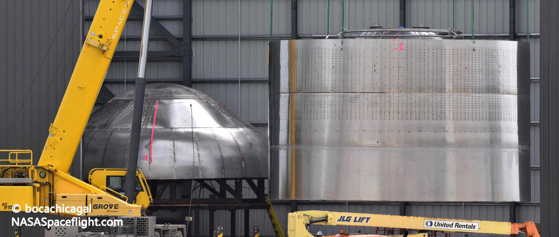 Starship Boca Chica 030220 (NASASpaceflight – bocachicagal) SN02 work 10 crop (c)