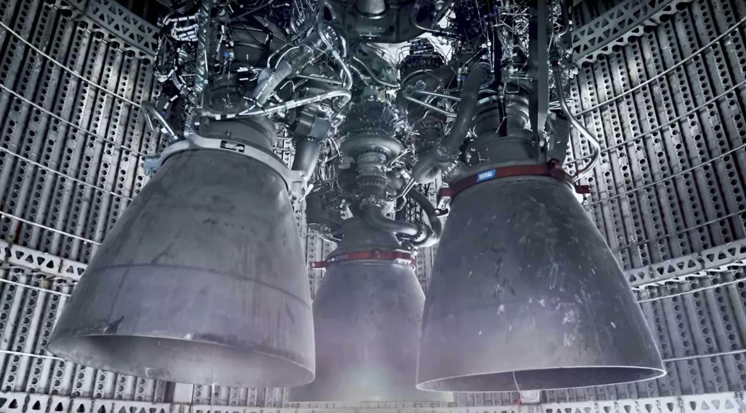 Starship update Starlink V1 L5 webcast 031520 (SpaceX) Raptor Mk1 3 (c)