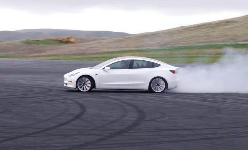 Tesla Model 3 Track Mode Package and Track Mode V2 Software