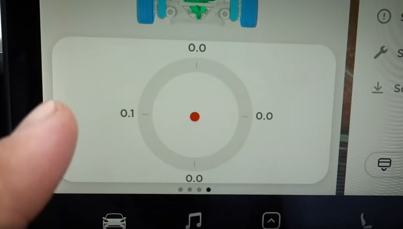 Tesla Model 3 Track Mode V2 Screenshot 3- G Force
