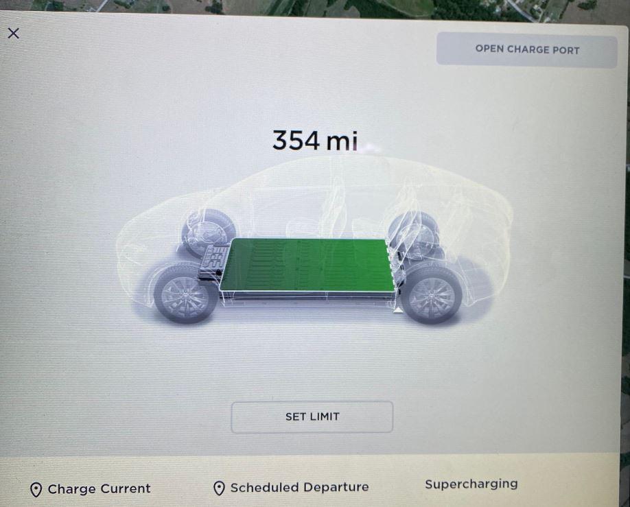 Tesla Model X Range Firmware Update