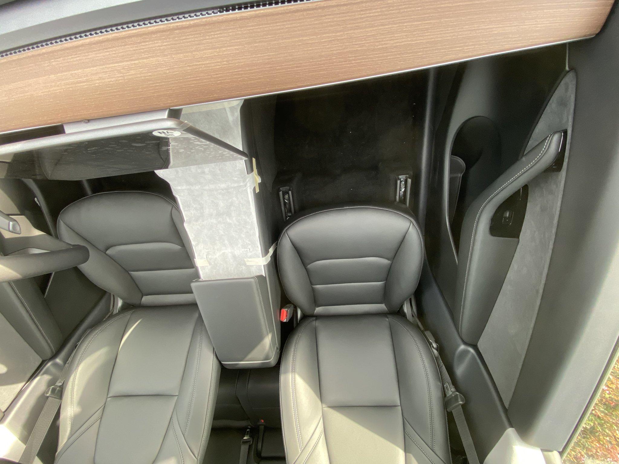 Tesla Model Y Front Seats Legroom