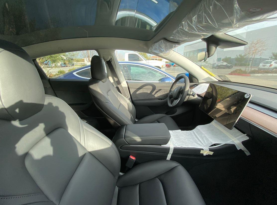 Tesla Model Y interior images show never-before-seen cabin ...