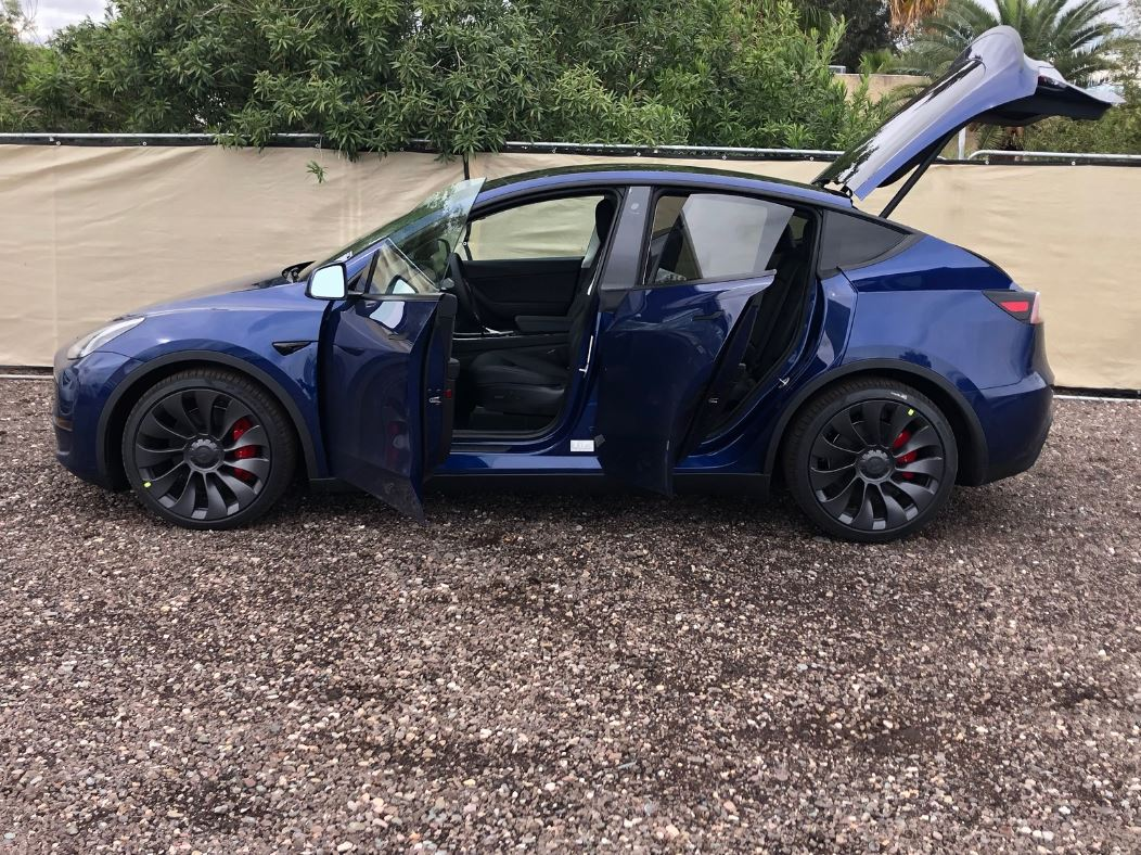 Tesla Model Y Power Liftgate