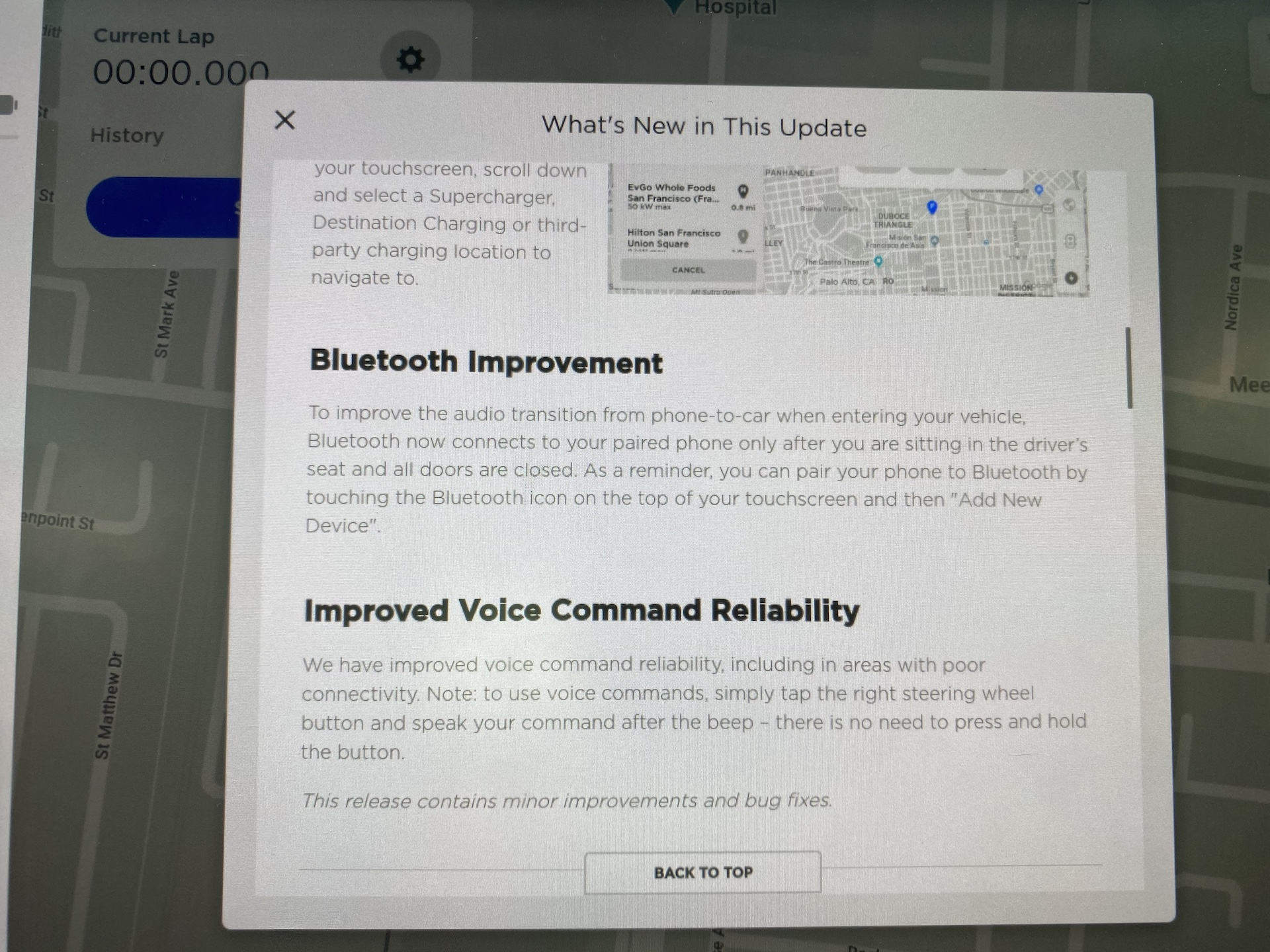Tesla firmware 2020.8.1 release notes – Bluetooth Improvements