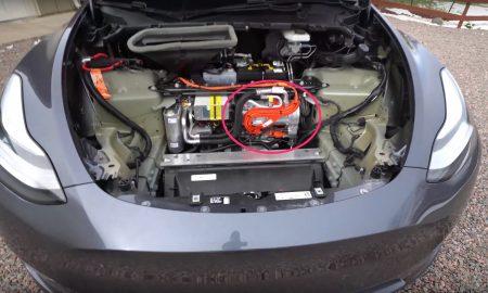Tesla Model Y heat pump