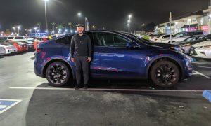 Tesla Model Y height size