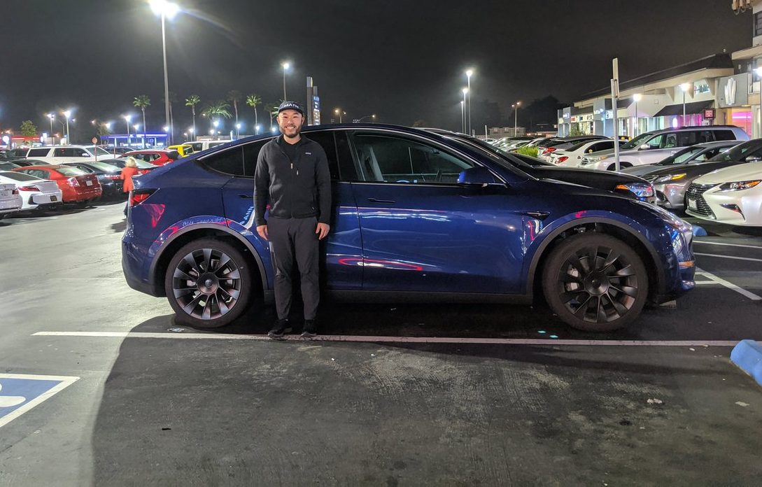 Tesla Model Y height size