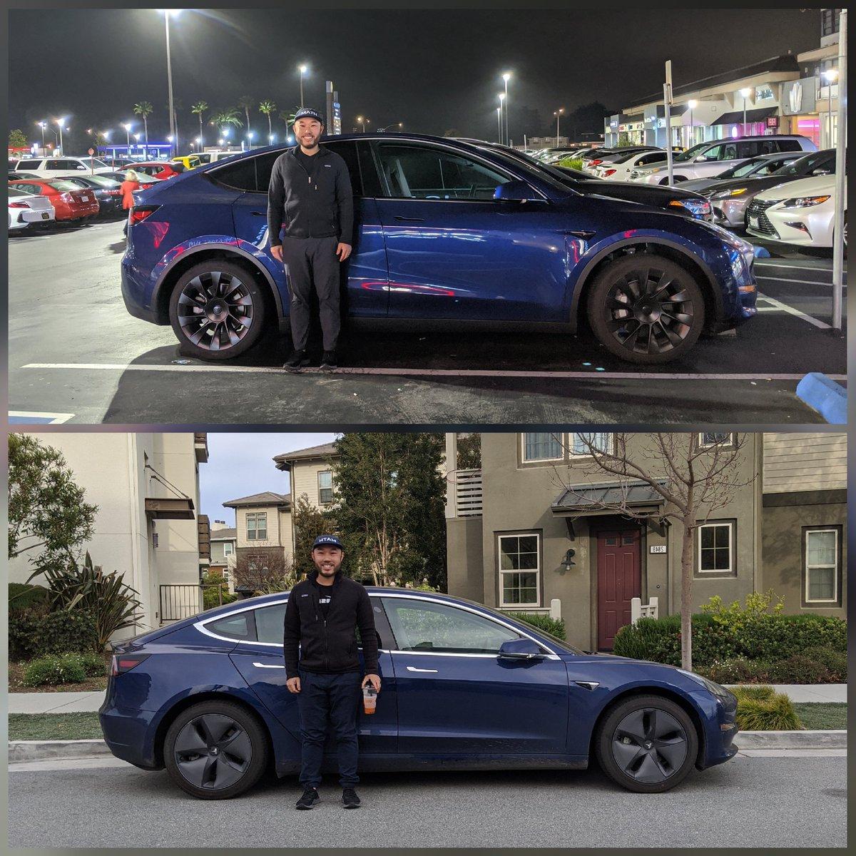 Tesla Model Y vs. Tesla Model 3 height and size