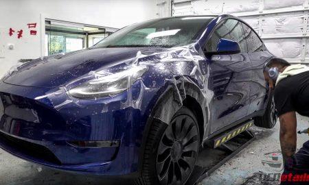 Tesla Model Y XPEL PPF treatment