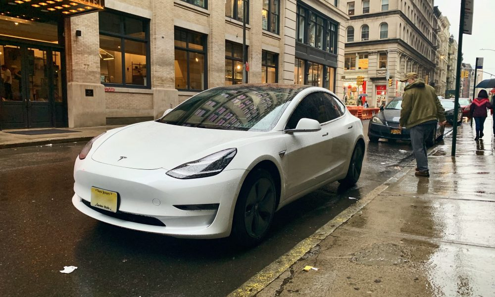 Tesla Model 3 in NYC