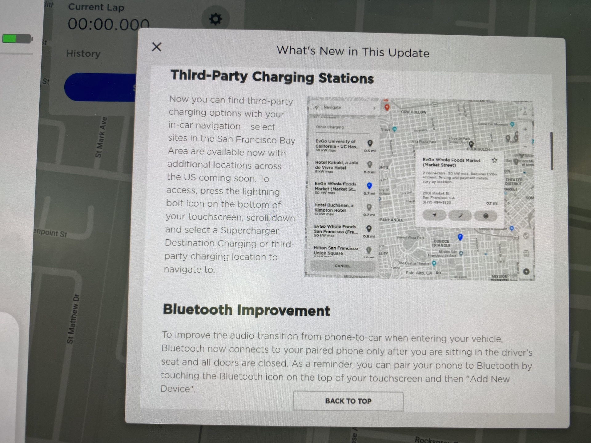 Tesla firmware 2020.8.1 release notes – Third-party charging