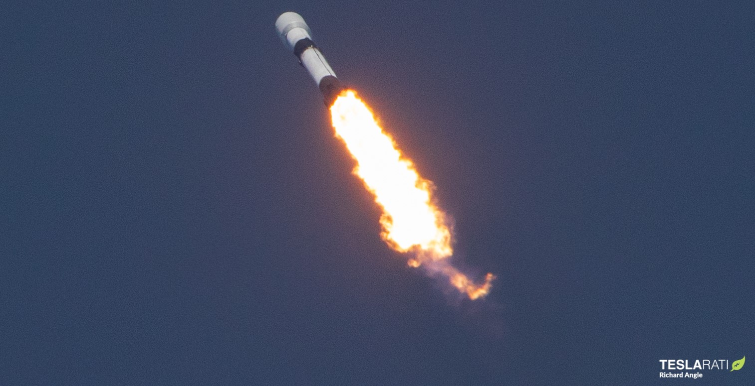 Falcon 9 Starlink 6 042220 (Richard Angle) launch 1