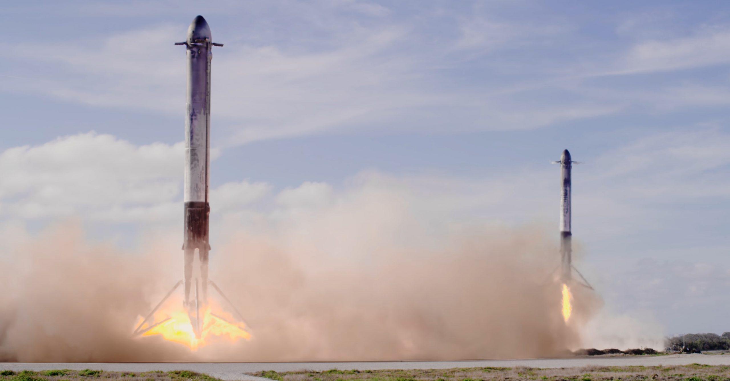 Falcon Heavy Demo Feb 2018 (SpaceX) 5