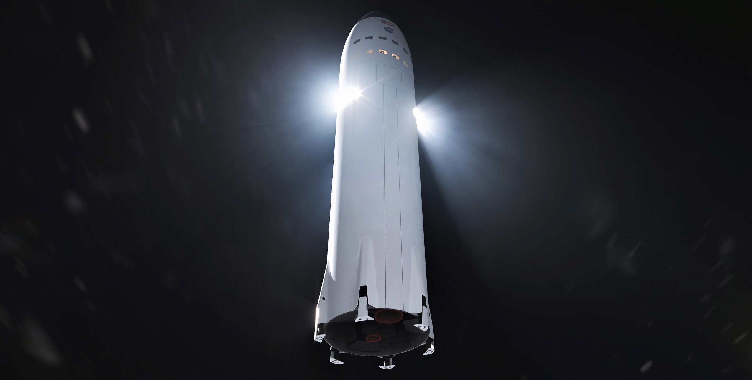 SpaceX selected to develop spacecraft for return to the moon