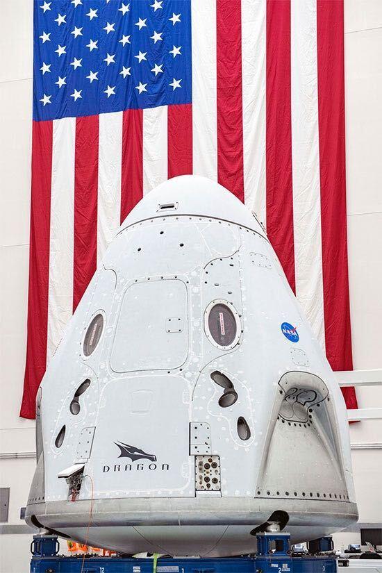 Space Crew Dragon (Credit: NASA)